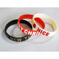 Personalized Filled Logo Silicone Gelang
